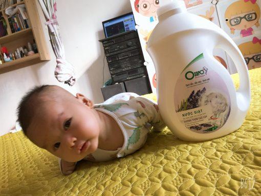 nước giặt xả OSARO phuc hợp cho trẻ em