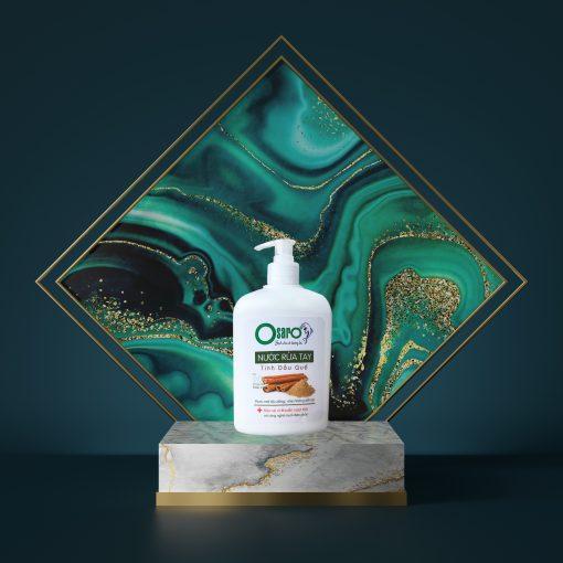 Nước rửa tay OSARO tinh dầu bạc hà