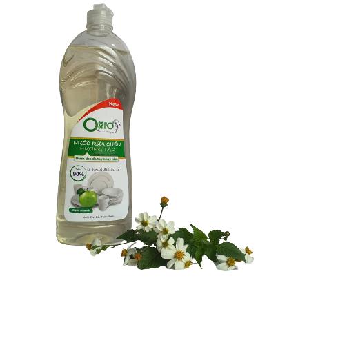 nước rửa chén cho da nhay cảm hương táo xanh 900ml